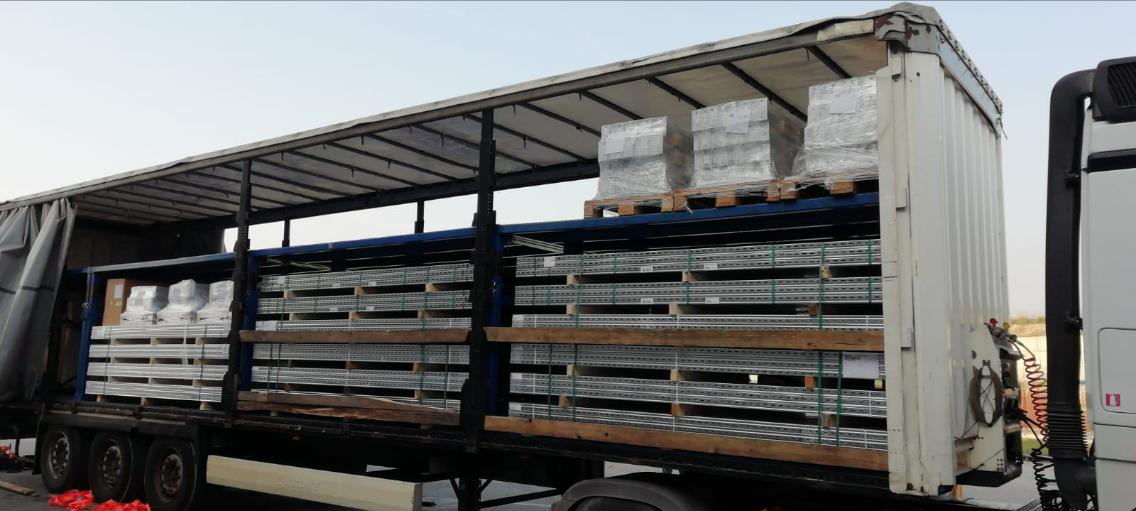 telescopic double deck trailer